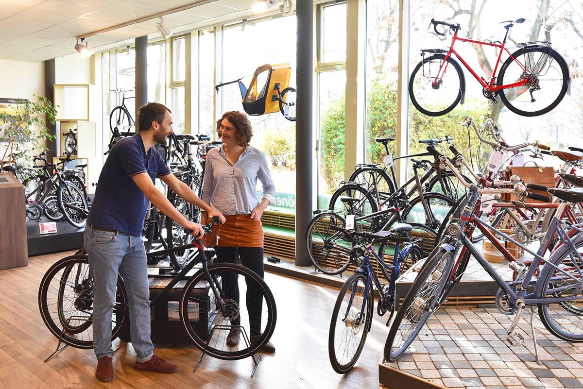 Beim Fahrradmarkt Velo Wunderlich in Bonn finden Sie ihr Traumfahrrad
